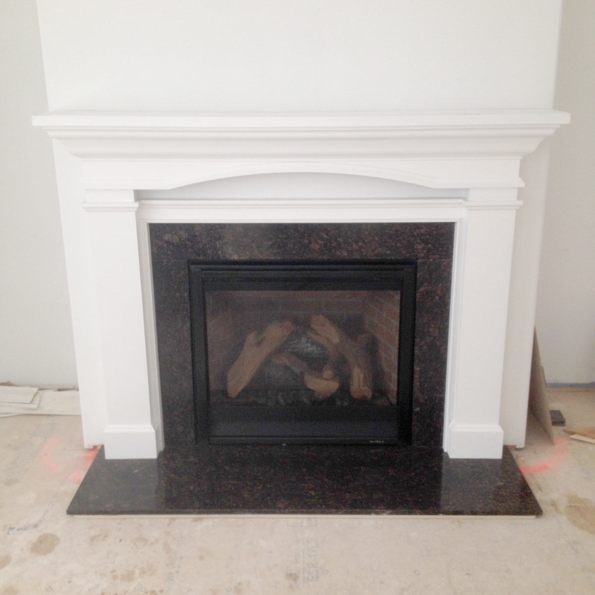 Cool Fireplace And Mantle Almost Completed Wehner General Home Remodeling Inspirations Gresiscottssportslandcom