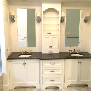 Double Sink Vanity Master Suite Bathroom Renovation