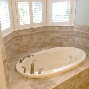 Spa Tub Master Suite in South Jersey