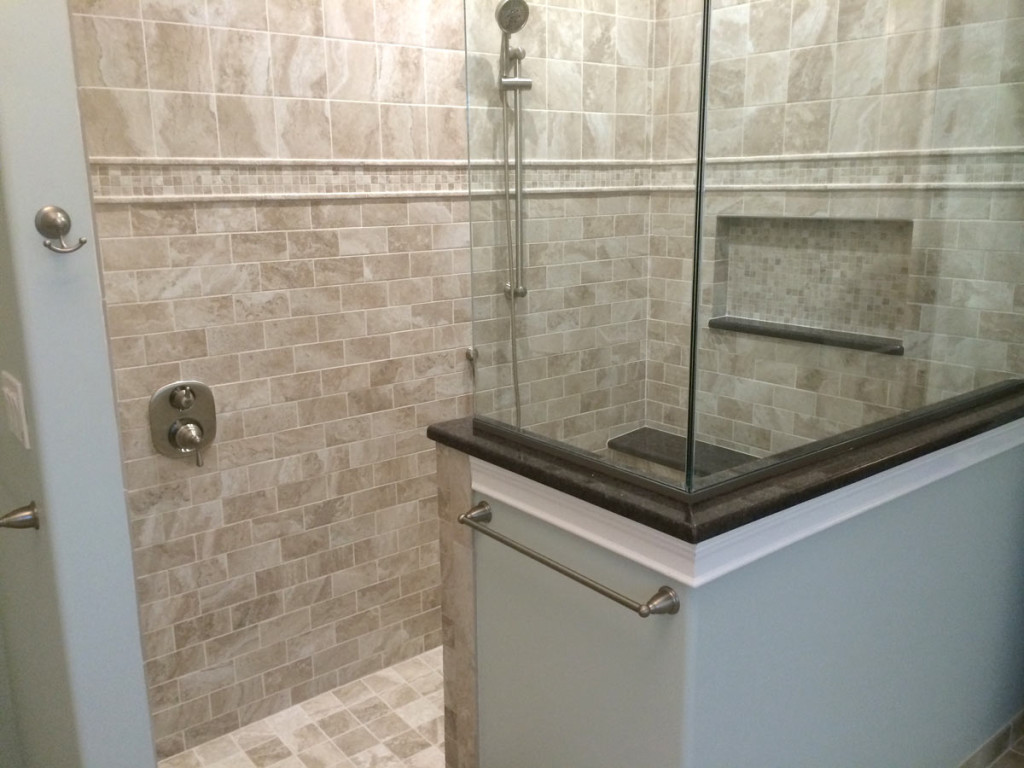 Upscale Shower Stall Bathroom in NJ