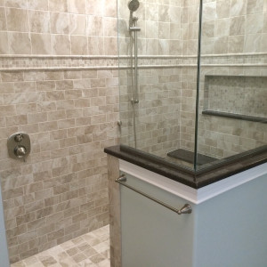 Upscale Shower Stall Bathroom in New Jersey